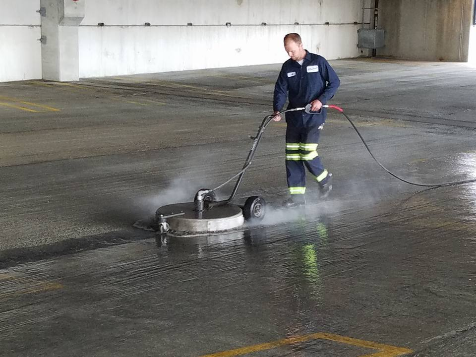 Chicago Pressure Washing Garage Washing Snow Plowing